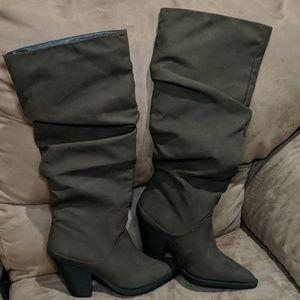 Fashion Nova knee high boots
